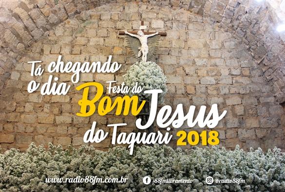 Expectativa para as celebrações das Novenas e Festa do Bom Jesus do Taquari