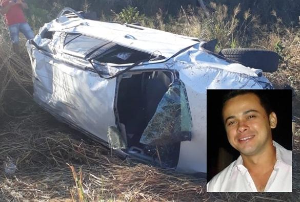 Empresário brumadense Luciano Correa morre após sofrer grave acidente na rodovia BR-430