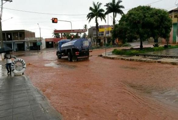 Livramento: choveu cerca de 25 mm na tarde da última terça-feira (21)