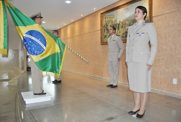 Major Cleise Delfino assume o comando da 46ª CIPM