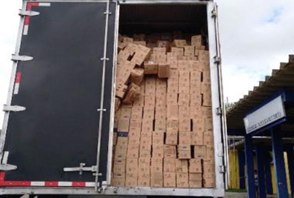 Policiais recuperam carga avaliada em quase meio milhão de reais em Vitória da Conquista